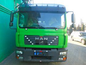 MAN TGL zielony diesel z małym przebiegiem nieuszkodzony 2007 r kupiony w polskim salonie Grójec