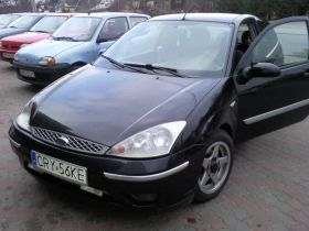 Ford Focus sprzedam czarny benzyna + LPG 13000 PLN cena do negocjacji na gaz klimatyzacja Ruszkowo