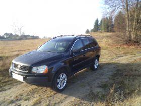 Volvo XC90 2005 r sprzedam czarny pierwszy właściciel ABS ASR EDS ESP 47500 PLN cena do negocjacji Borowo