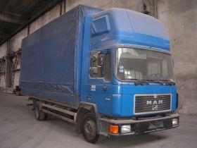 MAN M 90 6.9 l sprzedam niebieski 1991 r nieuszkodzony 10000 PLN diesel sprowadzony Wrocław