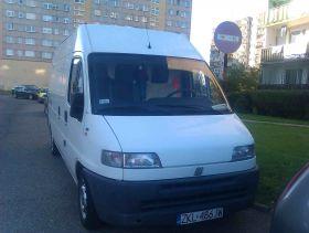 Fiat Ducato sprzedam biały 3-drzwiowy z małym przebiegiem 10500 PLN sprowadzony diesel Bus w Kołobrzegu