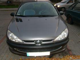 Peugeot 206 Hatchback sprzedam szary benzyna 9000 PLN cena do negocjacji kupiony w polskim salonie w Gdańsku