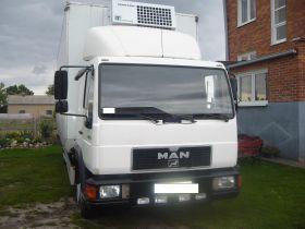 MAN EL 6.0 l sprzedam biały nieuszkodzony ABS diesel 35900 PLN cena do negocjacji z windą towarową Kutno
