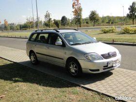Toyota Corolla 1.4 kombi 1.4 l sprzedam srebrny klimatyzacja 19500 PLN cena do negocjacji Warszawa
