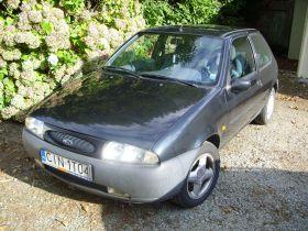 Ford Fiesta Hatchback sprzedam czarny nieuszkodzony 3-drzwiowy benzyna ABS 4500 PLN w Inowrocławiu