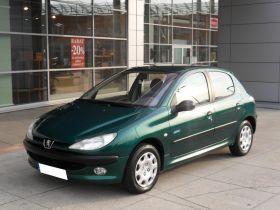 Peugeot 206 Mistral + klima 1.4 l sprzedam zielony 9900 PLN cena do negocjacji ABS w Ząbkach