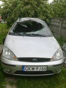 Ford Focus Kombi sprzedam srebrny diesel z małym przebiegiem 115 KM 5000 PLN sprowadzony Kwidzyn