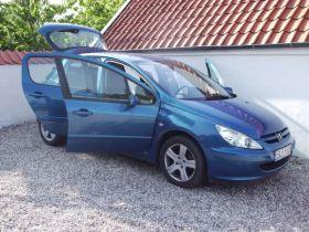 Peugeot 307 2.0 HDI 2.0 l HDI sprzedam niebieski ABS alufelgi z małym przebiegiem 10900 PLN