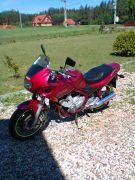 Turystyczny Yamaha XJ 600 S 1998 r sprzedam bordowy 5200 PLN cena do negocjacji 61 KM Gorczyca