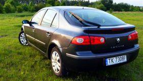 Renault Laguna Hatchback grafitowy 5-drzwiowy z małym przebiegiem 21500 PLN cena do negocjacji Kielce