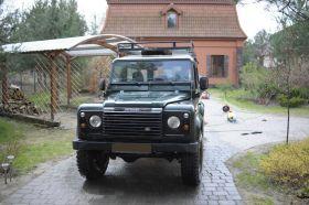 Land Rover Defender 2.5 l TDI z małym przebiegiem 45000 PLN cena do negocjacji diesel Warszawa