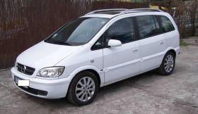 Opel Zafira 2.0 l sprzedam biały 5-drzwiowy 14900 PLN cena do negocjacji ABS sprowadzony w Krakowie