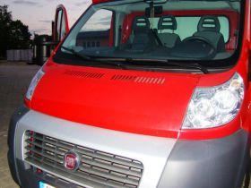 Fiat Ducato sprzedam czerwony ABS 65000 PLN diesel 120 KM Specjalistyczny Piotrków Trybunalski