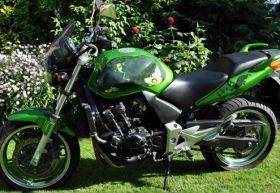 Turystyczny Honda cbf 600 n 2005 r sprzedam zielony 12500 PLN 75 KM 2005 r Zambrów