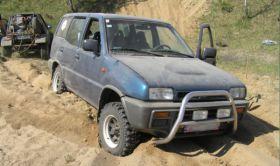 Nissan Terrano sprzedam niebieski 8000 PLN 5-drzwiowy Welurowa sprowadzony diesel w Katowicach