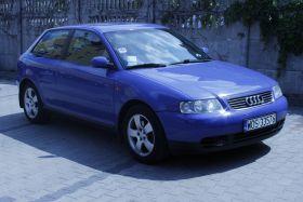 Audi A3 1.8 l turbo sprzedam niebieski kupiony w polskim salonie 14999 PLN cena do negocjacji