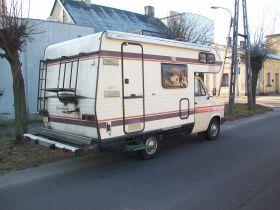 Ford Transit sprzedam beżowy 11000 PLN cena do negocjacji Kempingowy w Aleksandrowie Łódzkim