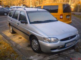 Ford Escort Kombi sprzedam srebrny sprowadzony diesel szyberdach nieuszkodzony ABS ASR alufelgi