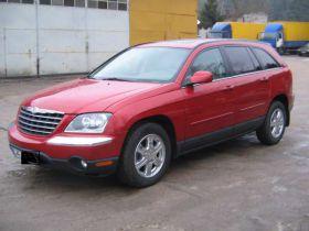 Chrysler Pacifica Touring sprzedam bordowy przyciemniane szyby 34000 PLN cena do negocjacji 4-drzwiowy Rumia