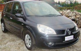 Renault Scenic Sedan sprzedam czarny sprowadzony 24400 PLN cena do negocjacji nieuszkodzony Krotoszyn