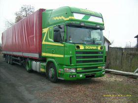 Scania 4 Ciągnik siodłowy sprzedam klimatyzacja nieuszkodzony diesel ABS 420 KM Jarosławiec