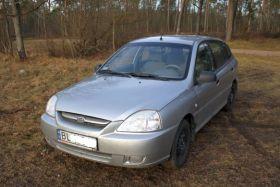 Kia Rio 2004 r Hatchback sprzedam srebrny 12000 PLN cena do negocjacji dodatkowy komplet opon