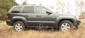 Jeep Grand Cherokee Laredo SUV sprzedam zielony przyciemniane szyby benzyna + LPG w Warszawie