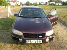 Opel Omega Sedan sprzedam bordowy z alufelgami komplet dokumentów benzyna ABS ESP nieuszkodzony Leszno