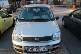Fiat Panda sprzedam srebrny 5-drzwiowy ABS 15600 PLN cena do negocjacji benzyna w Warszawie