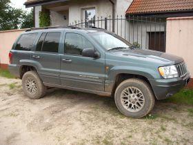 Jeep Grand Cherokee Limited 2.7 CRD 2.7 l sprzedam grafitowy diesel ABS 29900 PLN w Poznaniu