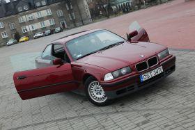 BMW E36 2.0 l BENZYNA sprzedam bordowy ABS nieuszkodzony 5200 PLN sprowadzony Strzelce Opolskie