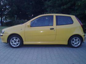 Fiat Punto Hatchback sprzedam żółty 9000 PLN z małym przebiegiem ABS ASR 140 KM w Jaworznie