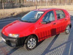 Fiat Punto sprzedam z kratką od pierwszego właściciela benzyna z małym przebiegiem w Płocku