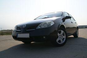Nissan Primera 2003 r sprzedam czarny 21000 PLN cena do negocjacji 116 KM Welurowa Stargard Szczeciński