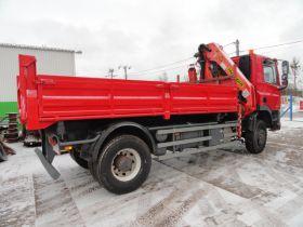 DAF 75 CF 750_240-ATI Wywrotka sprzedam HDS nieuszkodzony 245 KM sprowadzony Grodzisk Mazowiecki