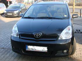 Toyota Corolla Verso Soul sprzedam czarny diesel ABS ASR EDS ESP 41000 PLN z małym przebiegiem
