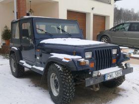 Jeep Wrangler sprzedam granatowy benzyna 25000 PLN cena do negocjacji sprowadzony Nowy Tomyśl